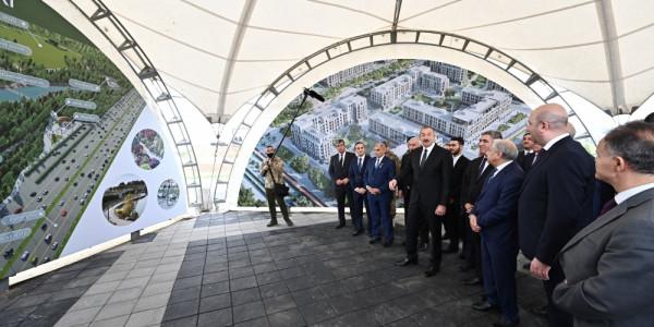 Füzuli şəhəri 50 min nəfər üçün planlaşdırılır