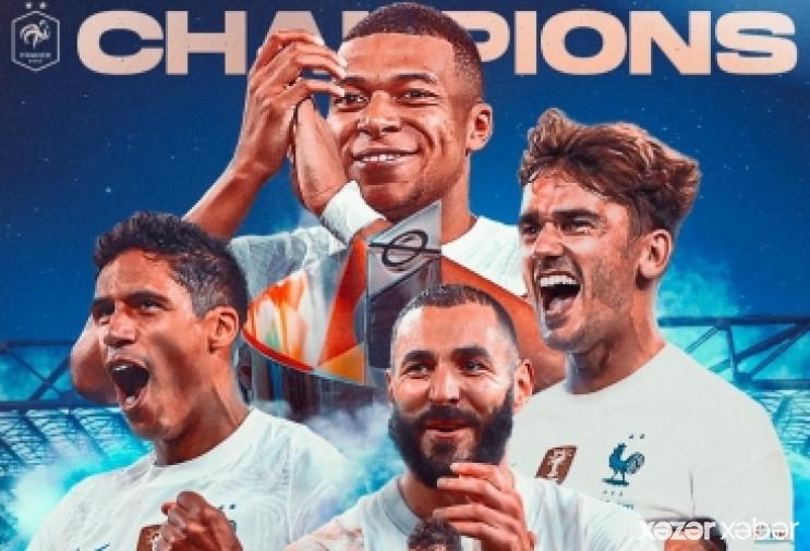 UEFA Millətlər Liqasının qalibi məlum olub