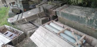 Xocavənddə ermənilərin silah-sursatı aşkarlandı