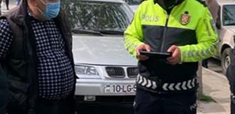 Ağdaş polisi reyd keçirib, qayda pozan sürücülər cərimələnib