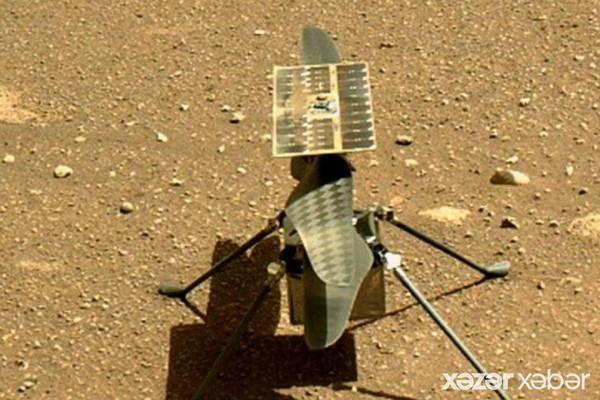 NASA helikopterinin Marsa ilk uçuşu barədə açıqlama yaydı