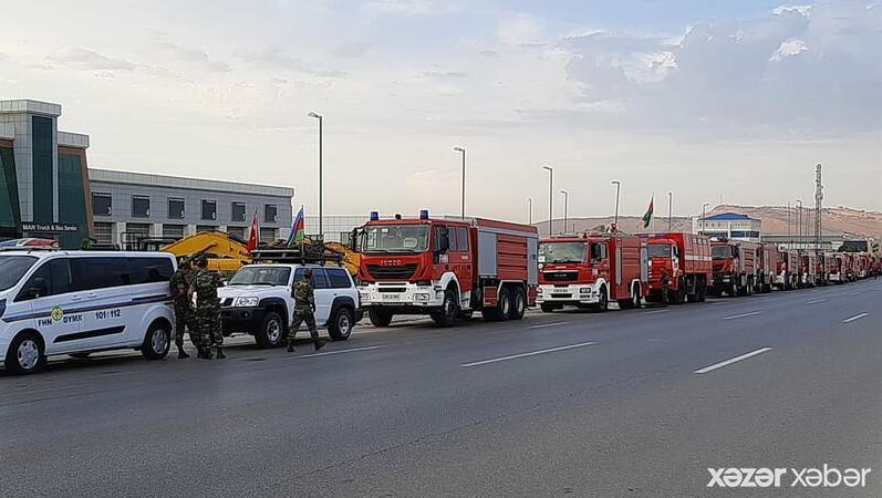 Türkiyəyə yardıma gedən ikinci qrup sərhədi keçdi