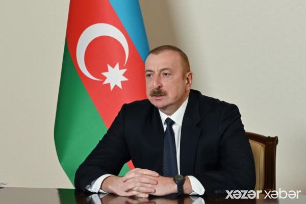 Prezident: Ermənistan Zəngəzur dəhlizinin icrasına əngəl törətmək istəyir, amma buna nail ola bilməyəcək