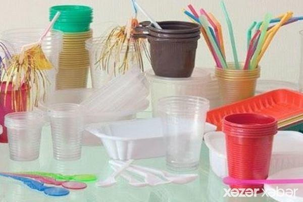Plastik qabların satışı dayandırılır