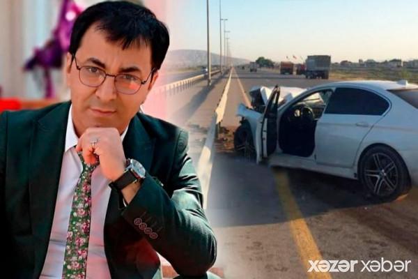Aslan Hüseynov öldüyü qəzadan dəhşətli görüntülər