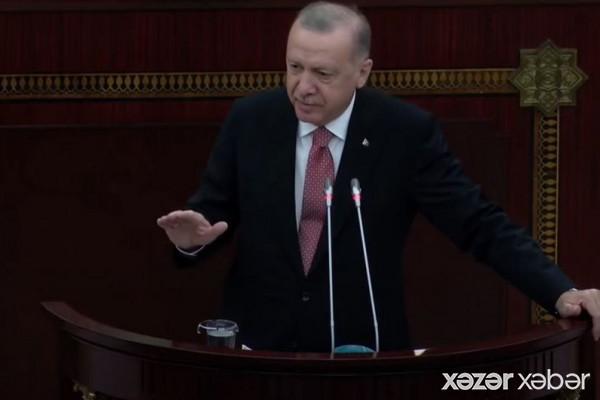 Türkiyə Prezidenti: Bütün dünya bilsin ki, Azərbaycanın yanında yer alacağıq