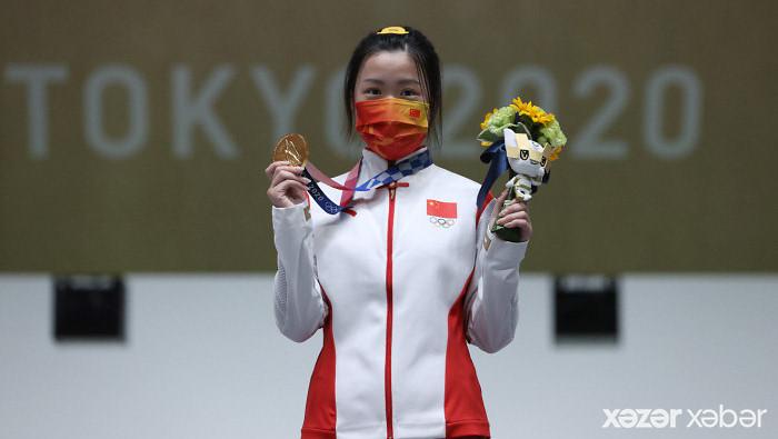 """Tokio 2020-nin ilk """"qızıl""""ı Olimpiya rekordu ilə qazanıldı"""