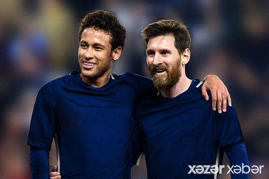 """Neymar Messiyə görə """"Barselona""""ya qayıtmaq istəyir"""