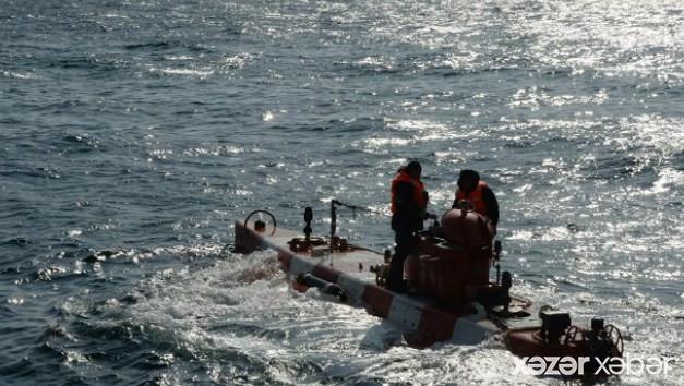 Çinin cənubunda gəmi aşıb: 70-dən çox insan dənizə düşüb