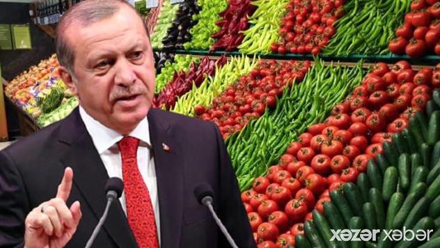 Türkiyədə ərzaq qiymətlərini tənzimləmək üçün yeni qanun qəbul ediləcək