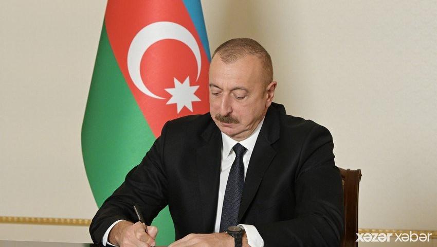 Prezident sərəncam imzaladı - 600 min manat ayrıldı