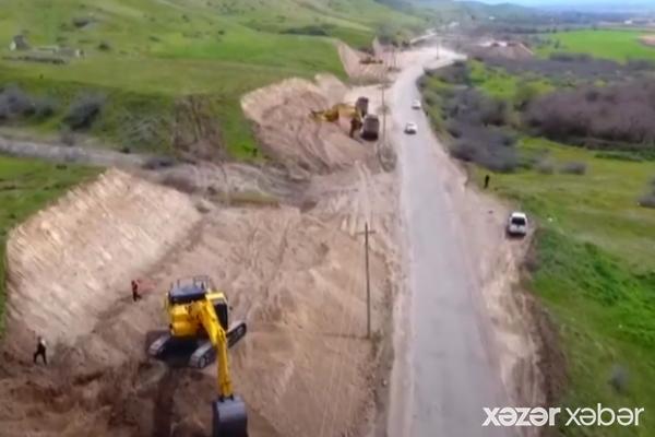 Xudafərin-Qubadlı-Laçın avtomobil yolunun tikintisinə başlanılıb