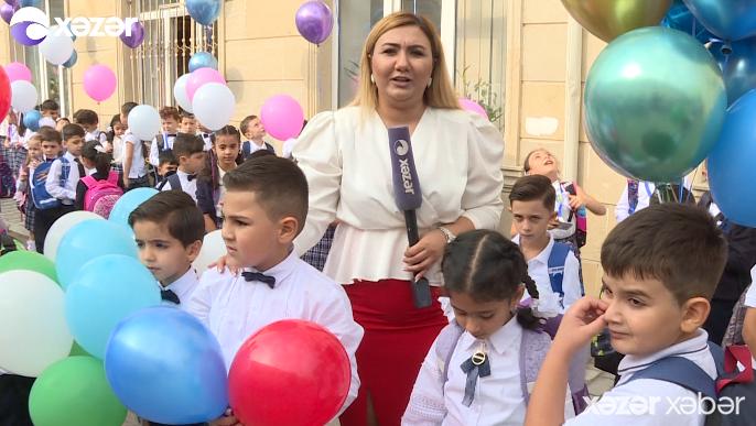 Azərbaycanda yeni tədris ili başlayıb