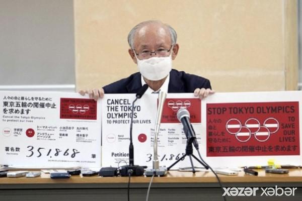 Tokio Olimpiadasının əleyhinə olan petisiya 350 mindən çox imza toplayıb