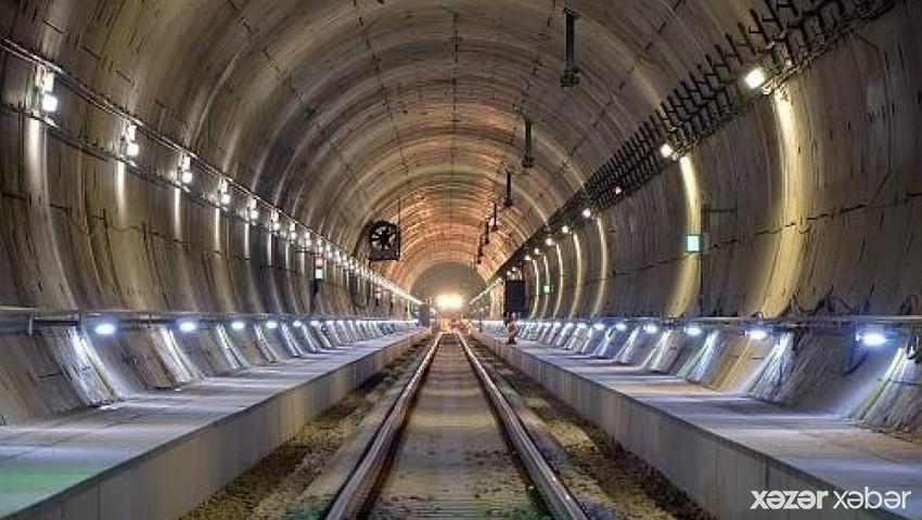 Balkanlarda ən uzun tunelin inşasına başlanıldı