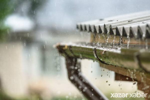 Yağış, dolu yağacaq, güclü külək əsəcək - SABAHIN HAVASI