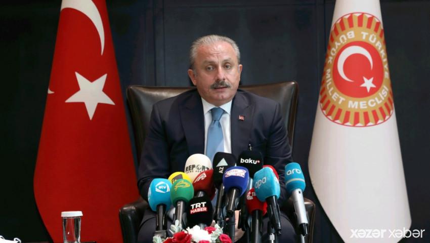 Mustafa Şentop Ermənistanın atəşkəsi pozmasından danışdı