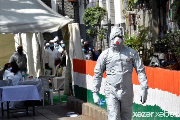 Hindistanda yeni COVID-19 anti-rekordları qeydə alınıb