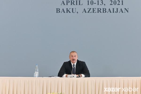 Prezident İlham Əliyev: Azərbaycan hər zaman münaqişənin tez tənzimlənməsində maraqlı olub